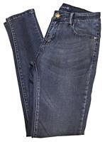 Pantalon Jeans Femme Slim 5 Poches Taille Normale