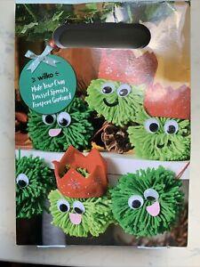 Wilko Make Your Own Brussel Sprout Pompoms Craft Set