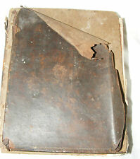 ANTIQUE WELSH BOOK REFORMERS MARTYRS & C OF E CONFESSORS 1813 OVER 200 YEARS OLF