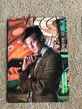 3 Rare Doctor Who Production Team Matt Smith River Song And Rory Postcards