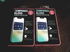 2 pack Tempered Glass Screen Protector For Iphone X