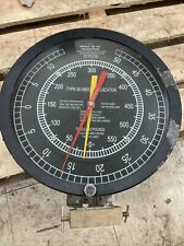 Vernier Type 50 Weight Indicator Drilling Rig Oilfield Man Cave Gift