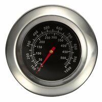 Termometro griglia fumè in acciaio inox da 50-500 gradi Celsius