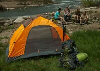 Two Person Lightweight Tent with Aluminum poles for Camping or Backpacking