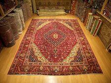 9.9 x 12.9  Handmade High Quality Antique 1930s Persian Tabriz Serapi Wool Rug