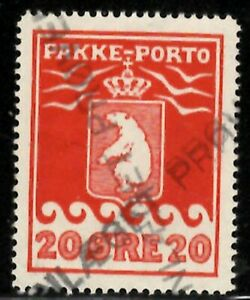 Greenland Pakke-Porto (Parcel Post) Facit P9 with village cancel