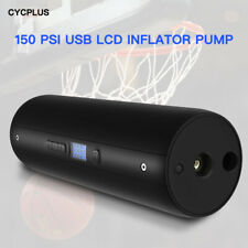 CYCPLUS 12V 150 PSI Tire Inflator Rechargeable 12V LCD Screen for Ball Ballnoon