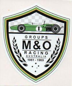 M&O RACING Tribute  Retro Sticker