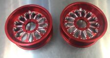 Goped Pocket Bike 66/72mm Billet Crucifier Rims-Anodized Red