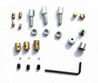 LAMBRETTA GP-LI-SX-TV TOP HATS TRUNNIONS & ALLEN KEY ADJUSTERS KIT SET BGM STYLE