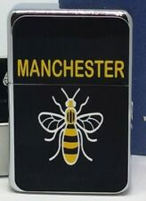 MANCHESTER WORKER BEE FLIP METAL PETROL LIGHTER