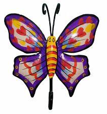 Indian Cloth Coat hat key hanging Butterfly hook Metal Iron Wall Door hanger Dec