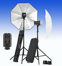 ELINCHROM D Lite RX 2/2 Umbrella to go Set (E20838) mit dem neuem Skyport PLUS