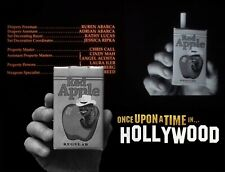 Rick Dalton's Red Apple Cigarettes Once upon a time in... Hollywood TARANTINO