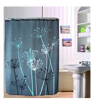 Creative Dandelion Design Bathroom Waterproof Fabric Shower Curtain 72 inch