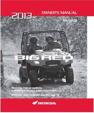 Honda 2013 MUV700 Big Red (A/CE) Owner Manual 13