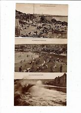 POST CARDS SIX REAL PHOTOS OF WESTON SUPER MARE