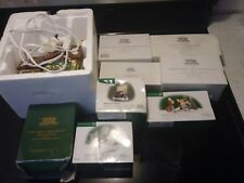 DEPARTMENT DEPT 56 lot of holiday collectibles