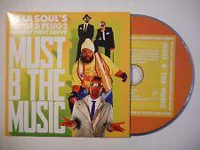 DE LA SOUL'S PLUGI ... FIRST SERVE : MUST B THE MUSIC ♦ CD SINGLE PORT GRATUIT ♦