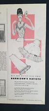 1956 women's Barbizon Batiste mix and match parade of petticoats slip vintage ad
