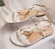 Sandalias y chanclas de mujer de color principal blanco talla 37