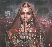 PADMAAVAT -Bollywood Soundtrack CD zum Film mit Deepika Padukone & Ranveer Singh