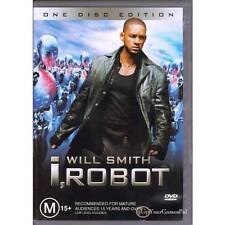 DVD i ROBOT I,ROBOT Will Smith 2004 SINGLE DISC EDITION SPECIAL FEATURES R4 [VG]
