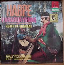 ROBERTO GUARANI HARPE PARAGUAYENNE FRENCH LP DISQUES FONTANA