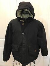 WOOLRICH sz M jacket DOWN PUFFER PARKA MEN'S HOODED water-resistant