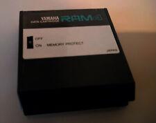 Yamaha Ram4 Ram 4 Data Cartridge for TX802 DX7 RX5 RX7 DX11 etc