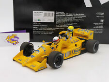 "Minichamps 540871811 # Lotus Honda 99T "" A. Senna Riding on S. Nakajima "" 1:18"
