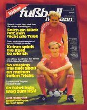 Kicker Fußball Magazin 1983 Nr 6 , mit Super-Wendeposter Herbert Waas , TOP
