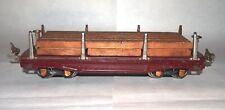 Lionel Prewar O Gauge 811 Lumber Car! Nickel Stakes, 1934! PA