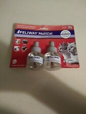 Feliway Multicat 2 Refills For Cats 2 Months For Ceva Diffuser Exp 10/20