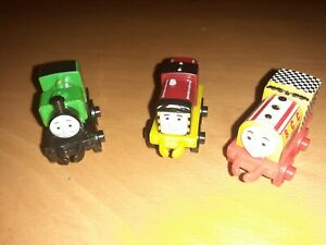 Mattel Thomas and Friends Minis Toy Trains Bill, Salty and Luke