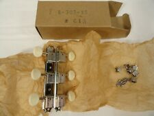 VTG 1960's NIB DOUBLE LINE KLUSON DELUXE 3 ON A PLATE TUNERS NOS GUITAR MACHINES