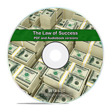 The Law of Success in 16 Lessons By Napoleon Hill, Self Help PDF & Audiobook H48