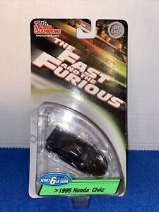 The Fast and The Furious Racing Champions ERTL 1995 HONDA CIVIC Series 1, 1:64