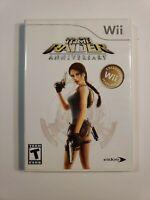 Lara Croft: Tomb Raider Anniversary - Nintendo Wii Game- Complete Tested & Worki