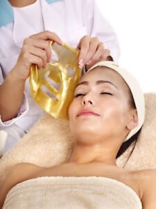 x5  COLLAGEN GOLD FACIAL MASKS- HYDRATING/ PLUMPING/ FINE LINES/ CLARITY
