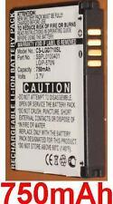 Battery 750mAh type LGIP-570N SBPL0100401 For LG BL20E