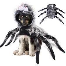 Pet Dog Cat Spider Cloak Coat Costume Puppy Dress Up Halloween Cosplay Clothes