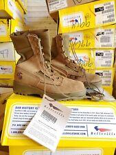 Men's Belleville JDB Hot Weather Military Combat Tactical Jump Boots Size 3 Nar