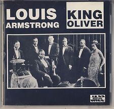 Louis Armstrong and King Oliver (Musical Heritage Society) Like New