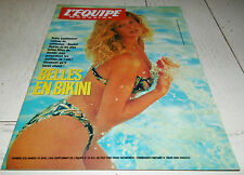 EQUIPE MAGAZINE N°634 1994 MODE MAILLOTS PARIS-ROUBAIX FOOTBALL YEKINI LAKERS