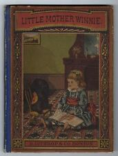 Little Mother Winnie Laurie Loring Published Late 1800's Children's Books