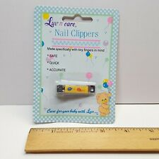Vintage Luv N Care Baby Infant Nail Clippers Nail Care - Sealed - Mpn 176