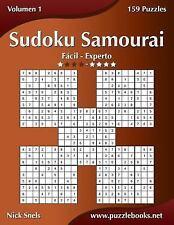 Sudoku Samurai: Sudoku Samurai - de Fácil a Experto - Volumen 1 - 159 Puzzles...
