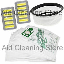 """Vacuum Cleaner Hoover 12"""" Filter 10 Bags & Air Fresheners TO FIT Numatic Hetty"""