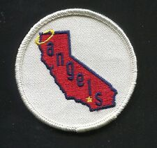 "Vintage 1969-1972 era CALIFORNIA ANGELS Logo Embroidered 3"" Patch, NEW (16610)"